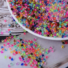 4mm Mix 20g Transparent Color Round Glass Beads Handmade accessory About 230pcs