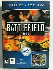 BATTLEFIELD 1942 MAC Game DELUXE EDITION NEW With ROAD TO ROME Expansion Pack