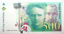 Billet 500 Francs France 1994