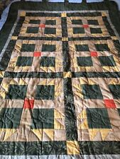Hand quilted large fall wall hanging