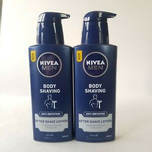 Nivea Men After Shave Lotion Anti Irritation Smooth Refreshes Skin 8.11 oz