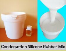Silicone Rubber Mould making Mix White Catalyst Condensation type 1kg