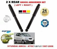 FOR HYUNDAI AMICA ATOZ 1.0 1.1 1997-2008 2X REAR LEFT RIGHT SHOCK ABSORBERS SET