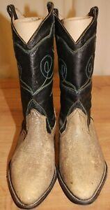 Bottes Santiag boots western NEUVE femme en lézard P 40 fabrication artisanale