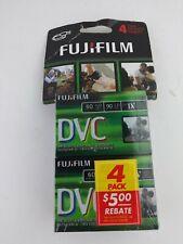 Fuji Film DVC 4 Pack Cassettes Digital Video