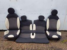 MINI Cooper R56 Half Leather Cream White Interior Sports Seats