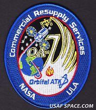 OA-7 Cygnus Mission ORBITAL ATK - ISS NASA COMMERCIAL RESUPPLY - ORIGINAL PATCH