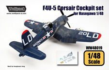 Wolfpack WW48019, F4U-5 Corsair Cockpit set (for Hasegawa 1/48) , SCALE 1/48