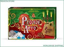 LOTO Lotto Russian Popular Old Game Bingo Wooden Barrels Ukraine РУССКОЕ ЛОТО
