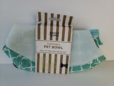 Portable Food Bowls Lot Fabric Travel Dog Cat Animal Pet Vet Water Furry Couture