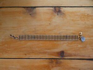 Rose Gold Gate Bracelet signed