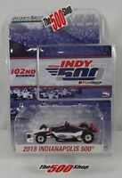 2018 Indianapolis 500 102nd Running 1:64 Event Die-Cast IndyCar Limited Edition