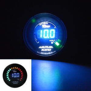 2'' 52MM Digital 20LED Racing Gauge Car AIR / FUEL Ration Meter Monitor Custom