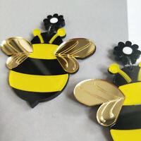 Fashion Women Acrylic Resin Bee Earrings Boho Dangle Drop Stud Earring