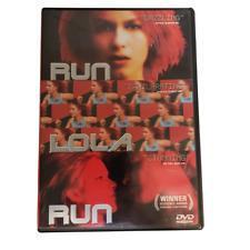 Run Lola Run Dvd Tom Tykwer(Dir) 1999 Franka Potente