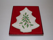 """Lenox """"Holiday Tree Candy Dish"""" - Dimension Collection"""