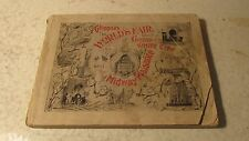 1893 Columbian World's Fair Guide Book