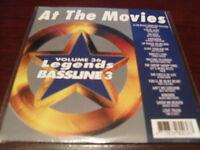 LEGENDS KARAOKE CD+G BASSLINE VOL 36 AT THE MOVIES NEW