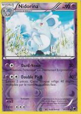 Nidorina Reverse-N&B:Glaciation Plasma-41/116-Carte Pokemon Neuve