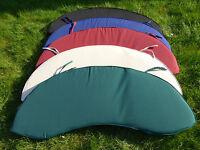 Garden Furniture Cushion - Peanut Bench Cushion For Oval Garden Benches 138x49x6
