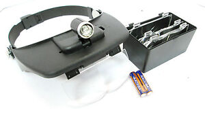 Head Magnifying / Magnifier / Light / Torch With Interchangeable Lenses TZ HB195
