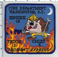 "Washington DC Fire Dept - ""MidnightcExpress"" Shoulder Patch from the 1980's"