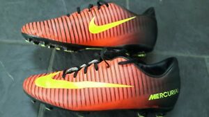 Boys Nike Mercurial Football Boots.All Weather Blades Size 5