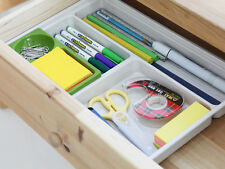 Office Desk Drawer Organizer Box, Stationery Accessories, Made in Korea