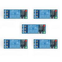 5xDC 1 Canales 5V Relay Rele Switch Modulo Para Arduino Raspberry Pi PIC ARM AVR