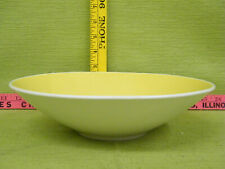 New listing Vintage Yellow Serving Bowl