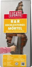 Lugato R & R-Hochleistungsmörtel Reparatur- und Renoviermörtel Wand Boden 25 kg