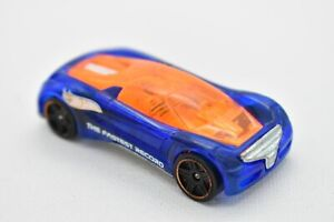 Hot Wheels Blue/Orange Nitrium The Fastest Record Tampo Thailand