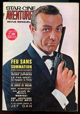 STAR-CINE AVENTURES N°170. FEU SANS SOMMATION. NOVEMBRE 1965.