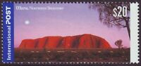 $20 ULURU INTERNATIONAL POST - MINT UNHINGED (A13613)