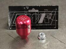 Blackworks Racing BWR 10x1.5 Aluminum 6061 5 Speed Type R Style Shift Knob Pink