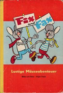 Fix und Fax Lustige Mäuseabenteuer~Jürgen Kieser~Verlag Junge Welt Band 1