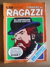 CORRIERE DEI RAGAZZI n°17 1975 Gli Aristocratici Castelli Tacconi  [G556]