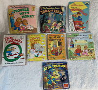 Berenstein Bears First Time Cub Club Lot of 8 Books Halloween Easter Christmas