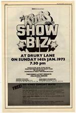 Kinks concert advert 1972 RS-VBNK