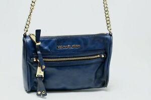 Michael Kors Blue Crossbody Bag ~ Small Size