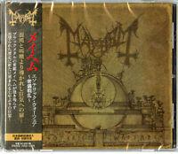 MAYHEM-ESOTERIC WARFARE-JAPAN CD F30