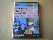 Momenti di gloria 10 sport DVD Tomba Moser Schumacher Woods Mennea calcio basket