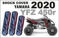 Stoßdämpfer Federbeinschützer Quad ATV Shock Covers Yamaha YFZ 450 R