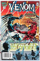 🩸 VENOM CARNAGE UNLEASHED #4 NEWSSTAND VARIANT VF MARVEL SPIDER-MAN Maximum