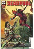 Deadpool #7 Laming Conan VS Variant Cover (Marvel 2018) NM