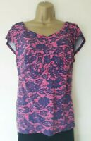 LOVELY PEPPERBERRY TOP SZ 18 IN VGC! REALLY SUPER CURVY,PINK, FLORAL