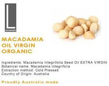 MACADAMIA OIL EXTRA VIRGIN 100% PURE NATURAL ORGANIC BASE CARRIER OIL 200ml
