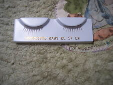 El17 LiGhT ReD EyElasHeS ~ Reborn Doll Supplies