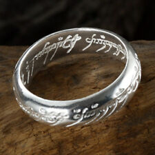 Lord Of The Ring LOTR 925 Sterling Silver The one Ring With Chain Nice Gift #9