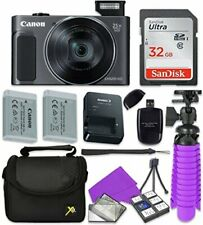 Canon PowerShot SX620 HS Wi-Fi Digital Camera (Red) with Accessories